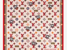 LV M76667 LV RODEO 70 方巾