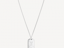 LV M62484 MONOGRAM LOCKET 项链