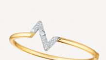 LV Q95980 LV VOLT 18K金钻石手镯