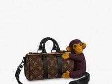 LV M80118 猴子 KEEPALL NANO 手袋
