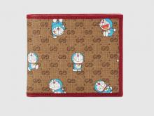 Gucci 647802 2TUBG 8580 Doraemon x Gucci联名系列 双折钱包