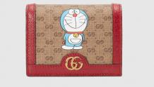 Gucci 647788 2TWAG 8580 Doraemon x Gucci联名系列 卡包