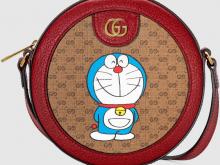 Gucci 625216 2T8AG 8580 Doraemon x Gucci联名系列 肩背包