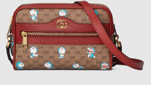 Gucci 647784 2TUBG 8580 Doraemon x Gucci联名系列 迷你手袋