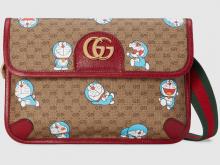 Gucci 647817 2TJBG 8587 Doraemon x Gucci联名系列 腰包