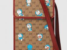 Gucci 647805 2TUBG 8580 Doraemon x Gucci联名系列 手袋