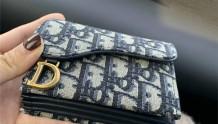 卡包推荐 | 新款Dior老花五格风琴卡包