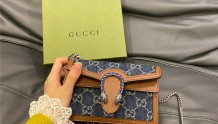 Gucci supermini香香的新品 牛仔配色