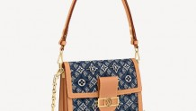 LV M57499 牛仔蓝 DAUPHINE 中号手袋