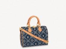 LV M57400 牛仔蓝 SPEEDY BANDOULIÈRE 25 手袋