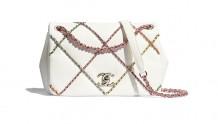 Chanel AS2383 B05100 N4510 链条口盖包