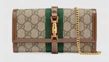 Gucci 652681 Jackie 1961系列链带钱包