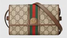 Gucci 645082 96IWT 8745 Ophidia系列迷你手袋