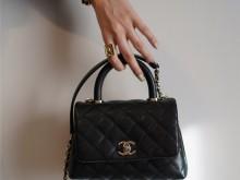 购物分享|Chanel香奈儿新款coco handle mini
