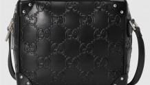 Gucci 626363 1W3DN 1000 GG印花压纹肩背包