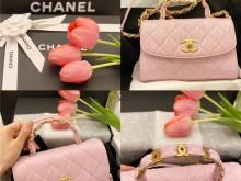 购物分享|香奈儿 AS2431 2021SS春夏新款粉紫包