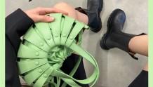 清新治愈|BV春夏shell包上架+短靴补货
