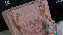 Chanel2021春季粉色沙灘包太可了!