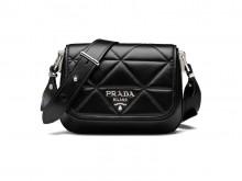 Prada普拉达 1BD283 Spectrum 皮革手袋