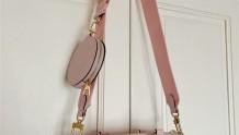 喜提lv M45707 新款papillon粉色上身图+黄色对比图
