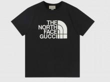 Gucci 615044 XJDBZ 1289 The North Face x Gucci联名系列 黑色 棉质T恤