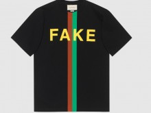 Gucci 616036 XJCXX 1082 Fake/Not印花 超大造型T恤