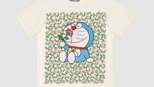 Gucci 615044 XJDIF 9095 Doraemon x Gucci联名系列 棉质T恤