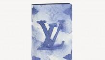 LV M80455 水墨系列 口袋钱夹