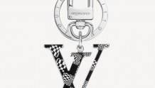 LV MP2918 DISTORTED DAMIER 包饰与钥匙扣