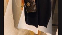 Chanel AS2635 2021手工坊 黑金盒型包 box bag羊皮