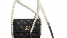 Chanel AP2185 B05481 94305 链条口盖卡包