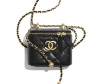 Chanel AP2292 B06092 94305 双金球 小号链条化妆包
