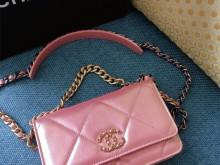 澳门四季Chanel 19woc幻彩珠光金粉色首发?