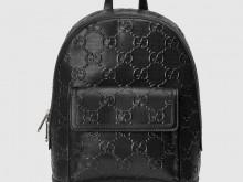 Gucci 658579 GG印花 压纹背包