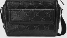 Gucci 658565 1W3CN 1000 GG印花压纹 邮差包