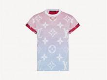 LV 1A8RPR REVERSE SUNSET MONOGRAM T恤