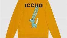 Gucci 626990 XJDJS 7245 喀迈拉图案 ICCUG动物印花卫衣