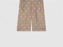 KAI x Gucci 660286 ZAG1O 2233 GG 真丝短裤