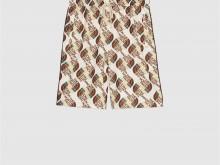 The North Face x Gucci 651333 XJDCE 9141 联名系列织带印花平纹针织短裤
