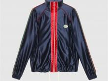 Gucci 655341 XJDF1 4330 闪亮针织面料织带夹克