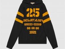 "Gucci 660282 XJDJD 1060 ""25 Eschatology""印花卫衣"