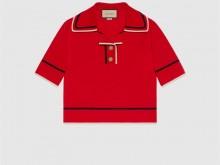 Gucci 658364 XKBSK 6117 精棉针织Polo衫