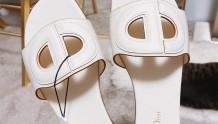 Dior猪鼻子D-CLUB拖鞋 - 遗憾拔草