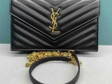 包包界的yyds—YSL monogram黑金鱼子酱链条