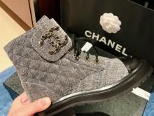 Chanel马丁靴 也太难买了 牛仔新款YYDS