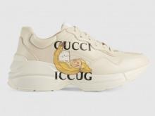 Gucci 659408 2SH00 9522 Rhyton系列 Bananya印花运动鞋