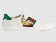 Gucci 661658 661663 Ace系列 Bananya印花运动鞋