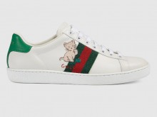 Gucci 630616 1XG60 9114 Ace系列 猫咪图案运动鞋
