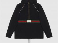 Gucci 645320 织带针织棉卫衣