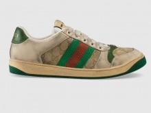 Gucci 546551 9Y920 9666 Screener系列 饰GG运动鞋